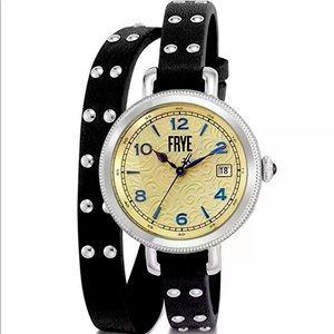 🔥Frye Melissa Stainless Steel Watch Wrap Watch 🎁
